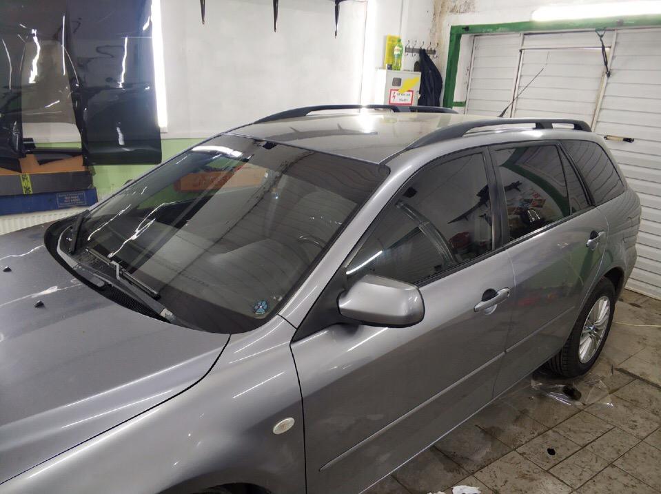 Затонировали Mazda 6