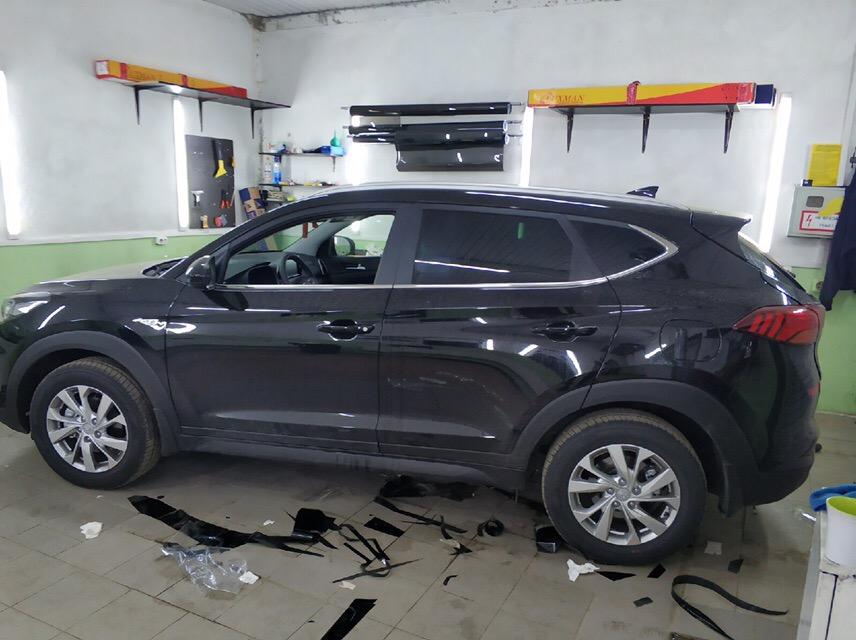 Тонировка Hyundai Tucson
