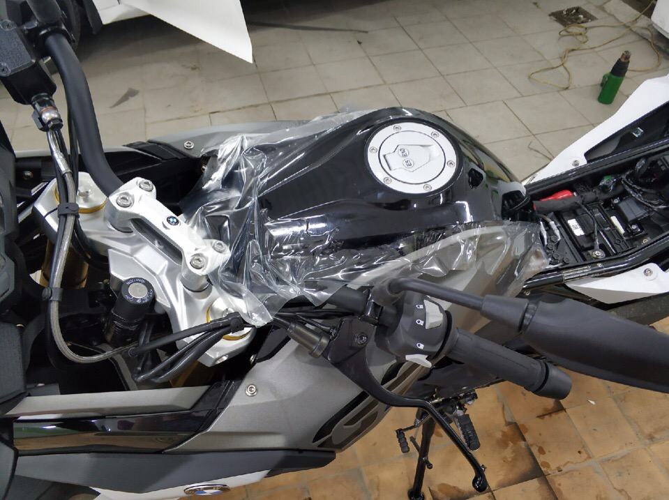 Забронировали мотоцикл BMW в Зеленограде