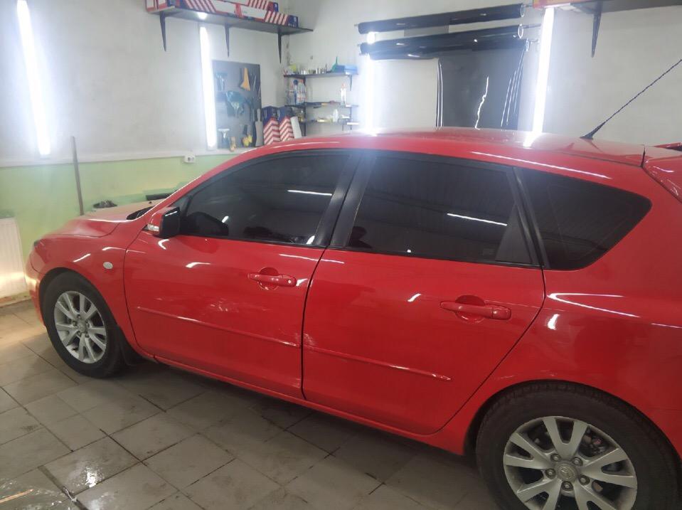 Затонировали Mazda 3 Зеленоград
