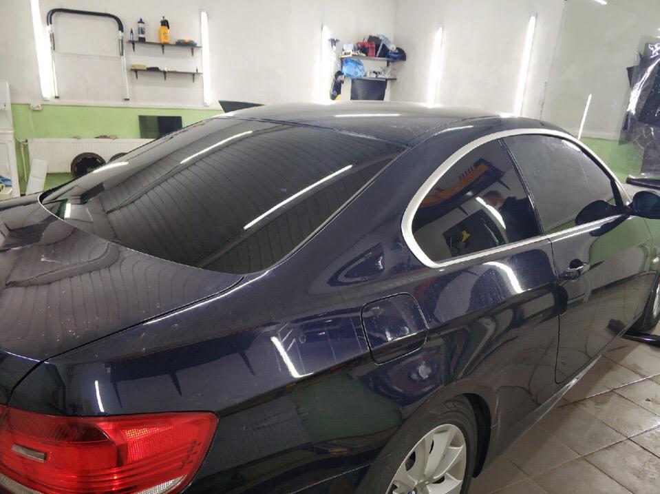 Затонировали BMW в Зеленограде