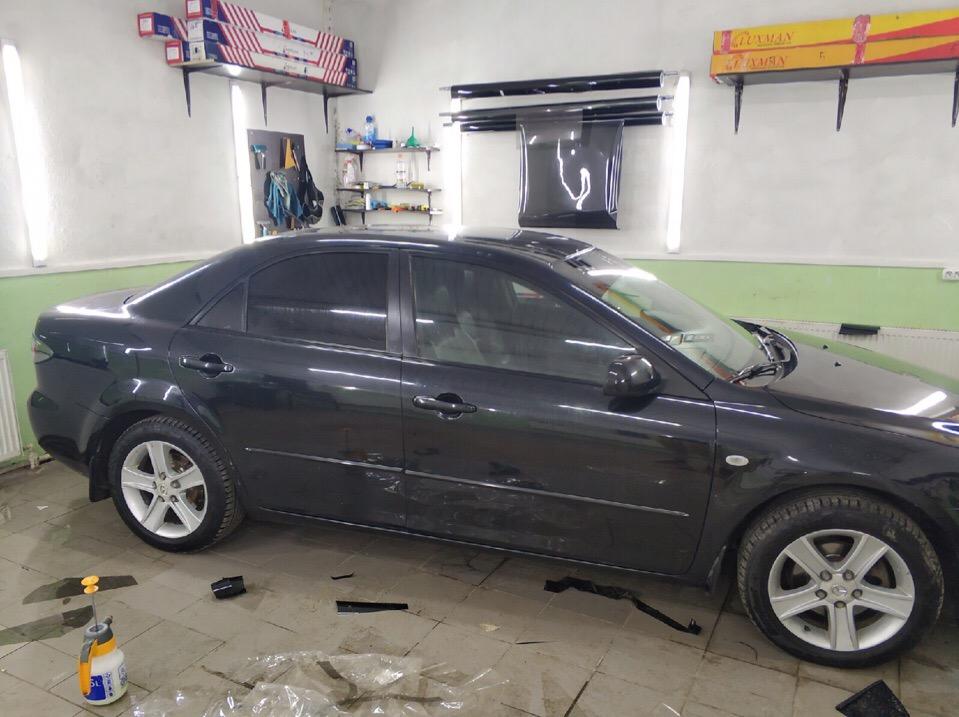 Тонировка Mazda 6 в Зеленограде