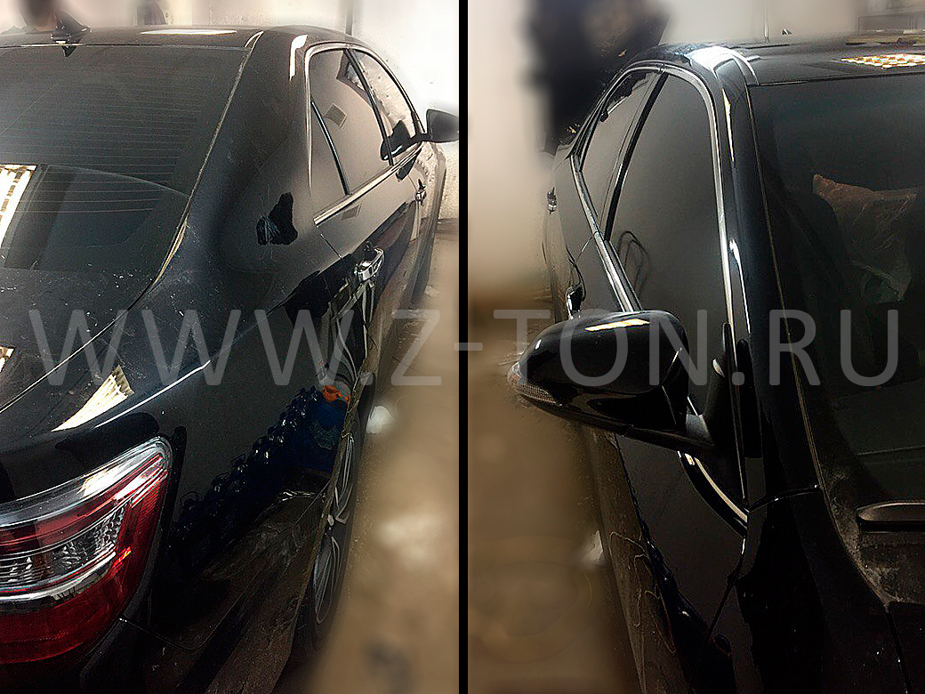 Тонировка Toyota Camry в Зеленограде