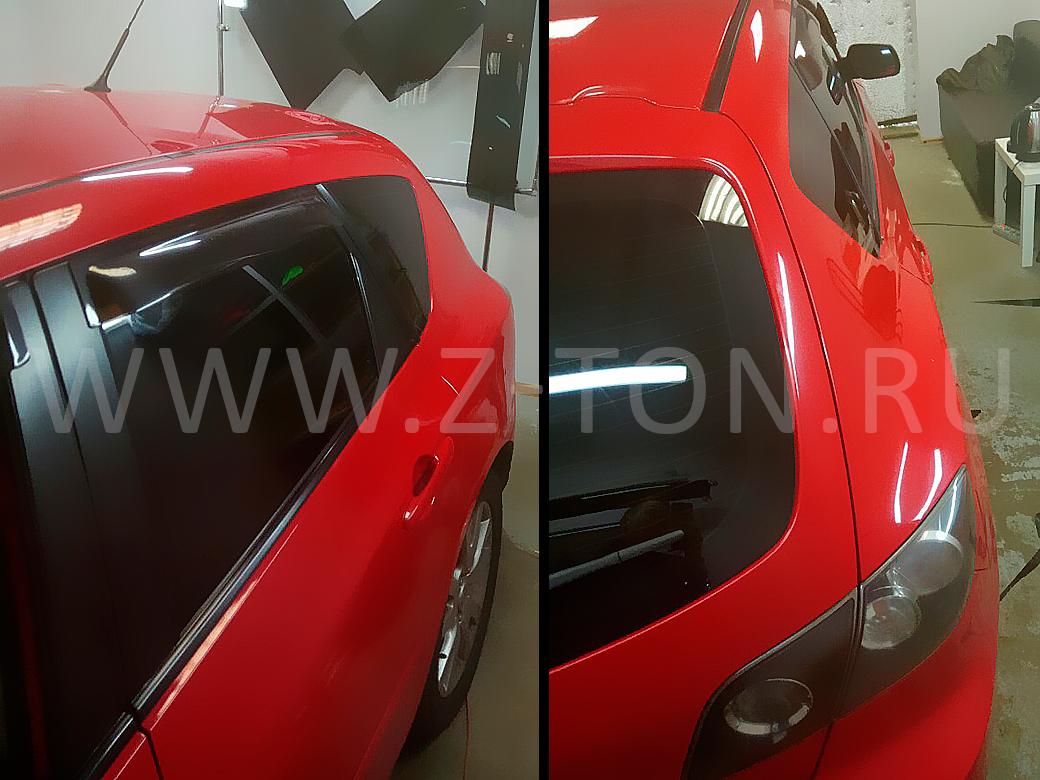Тонировка Mazda 3 в Зеленограде