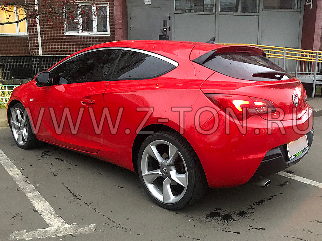 Тонировка Opel Astra