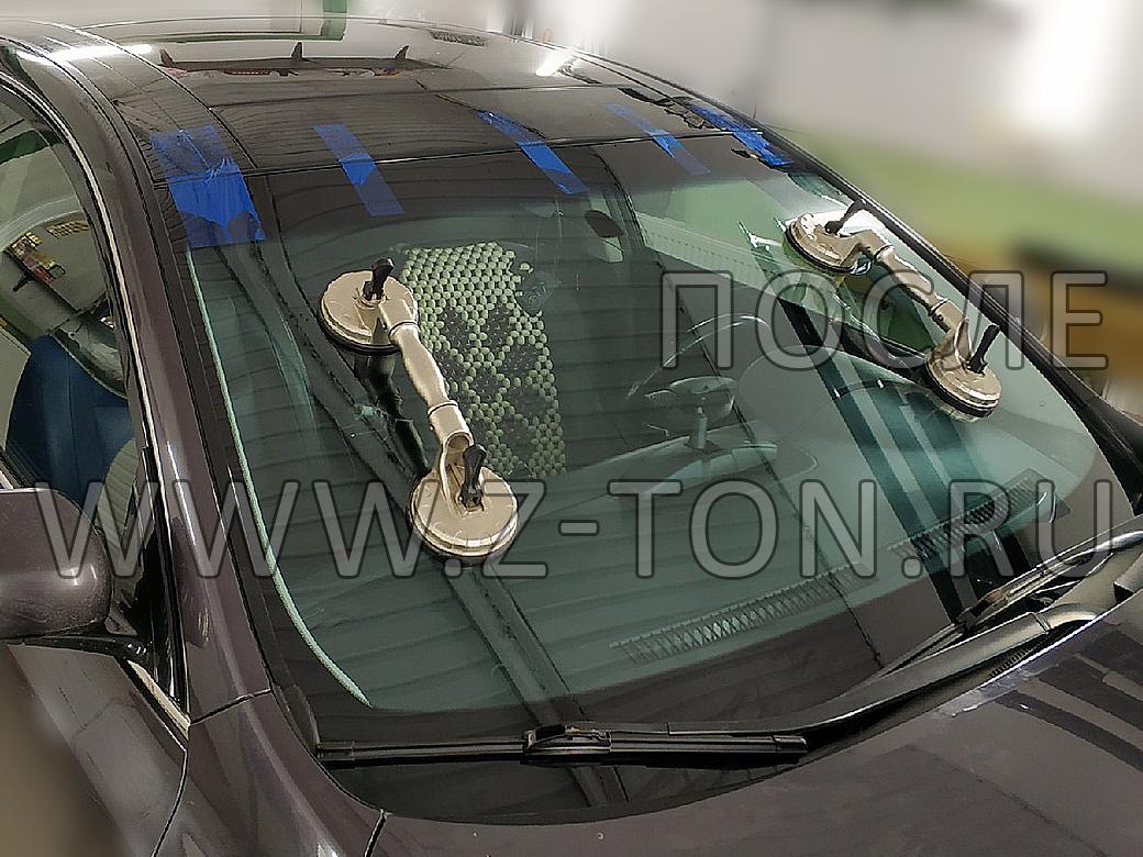 Nissan Teana: Замена лобового стекла на Ниссан Тиана