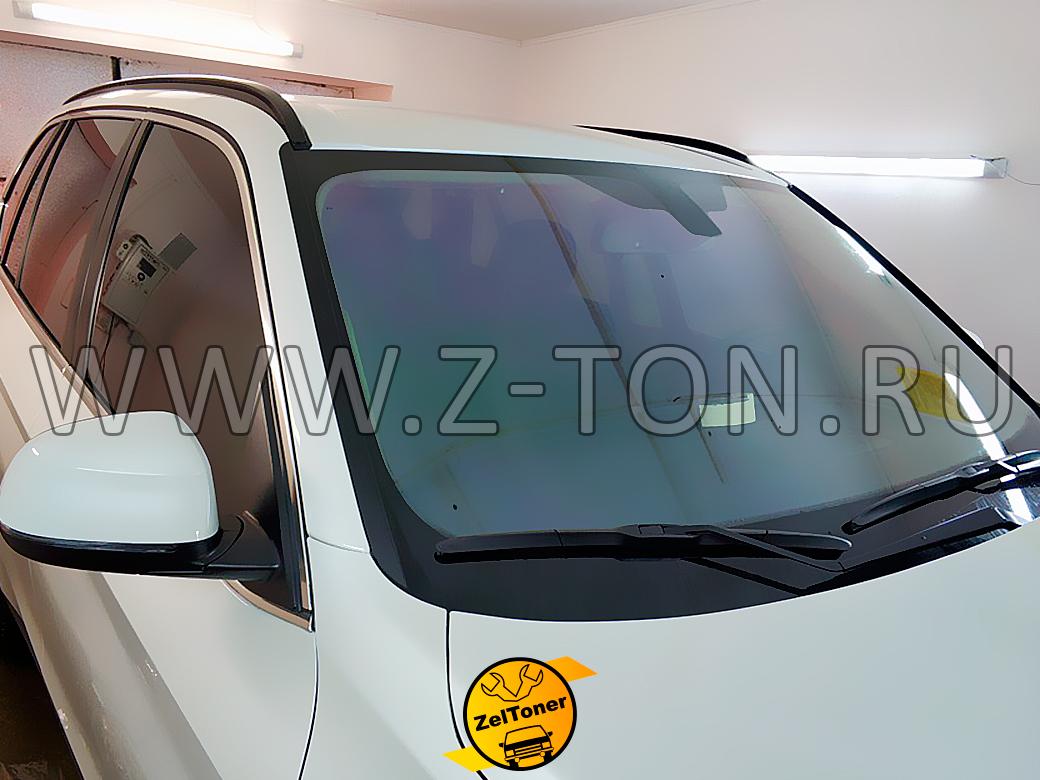 BMW X5: Съемная тонировка 15% на передних стеклах, лобовое - хамелеон 93%